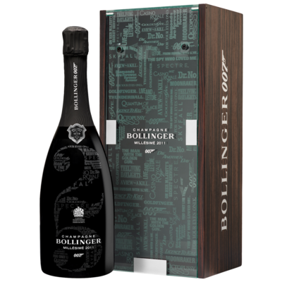 Bollinger Millesime 2011 James Bond 007 Limited Edition Champagne 75cl